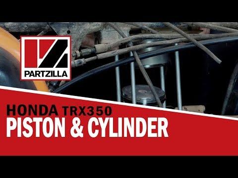 Honda Rancher 350 Top End Rebuild Part 2: Piston Installation | Partzilla.com