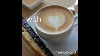 How to Make a Latte Heart - With Love, Yahoo Food