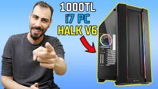 1000 TL HER OYUNU AÇAN EFSANE SİSTEM! 2.EL PC TOPLAMA - HALK V6 (Sizlere Hediye Ediyorum)