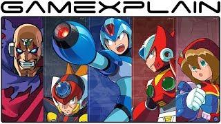 Mega Man X Legacy Collection 1 & 2 - Gameplay Trailer (JP)