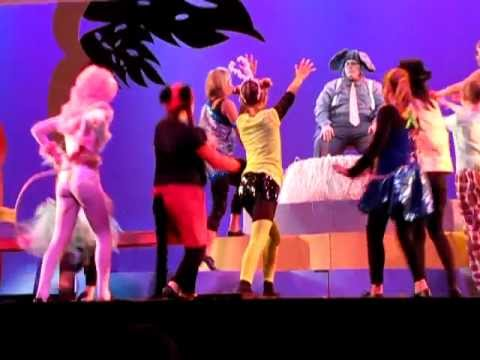 SEUSSICAL:  Dancers at the Circus with Horton