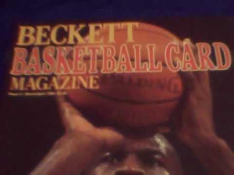 Becket basketball magazine issue #1 1990