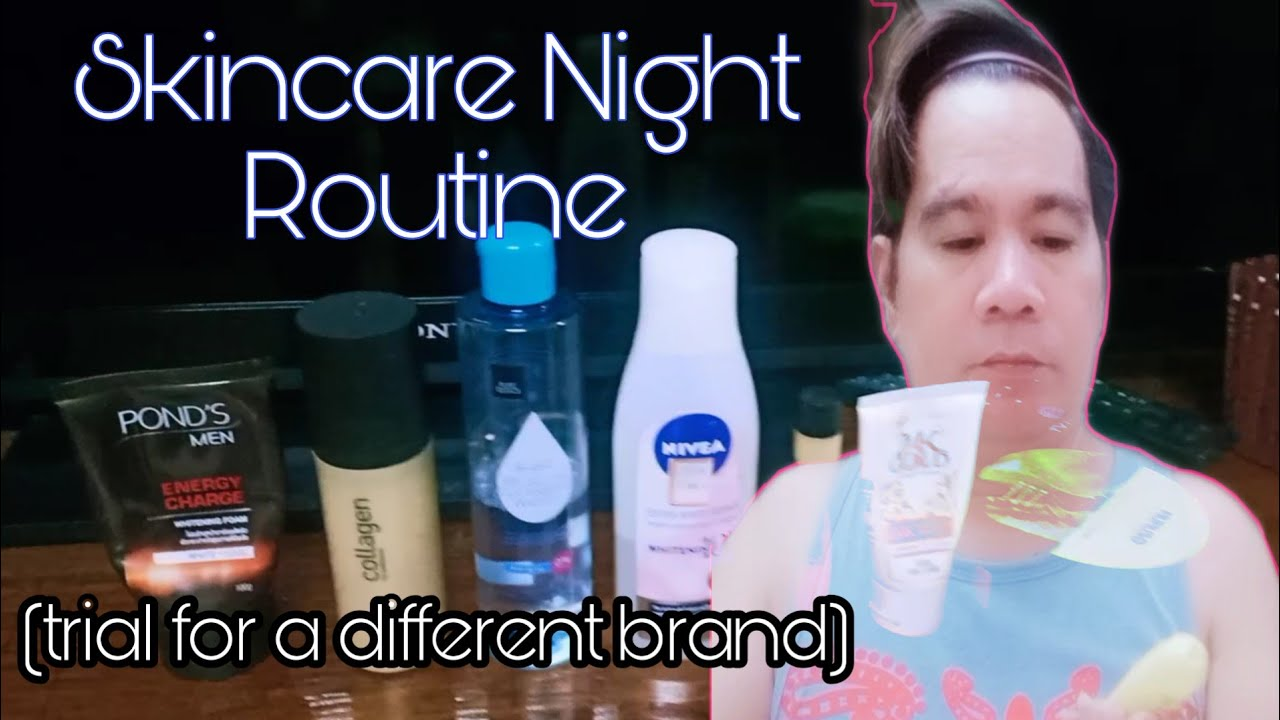 Skincare Night Routine Challenge To Myself While In Ecq Youtube