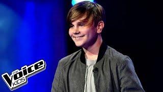 """Maks Więckowski – """"Love Yourself"""" – Przesłuchania w ciemno – The Voice Kids Poland"""