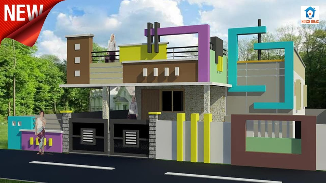 Single Floor House Elevation Designs