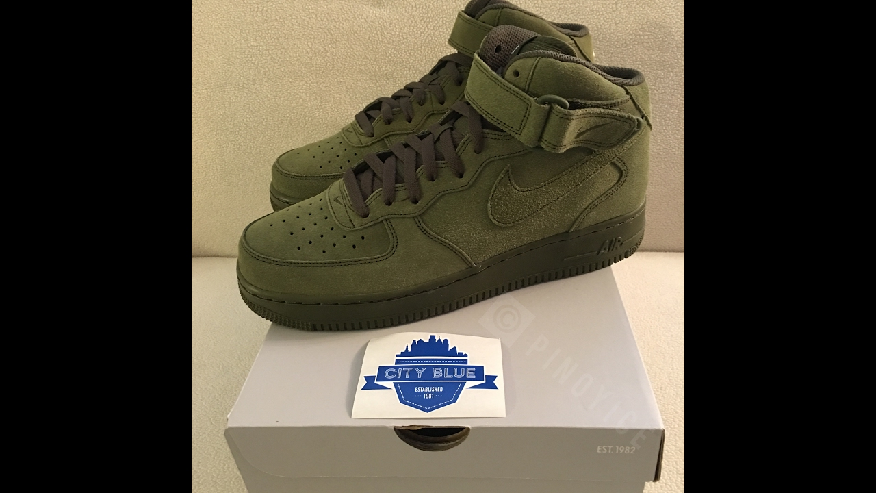 get nike air force 1 mid olive green 921d3 7d334
