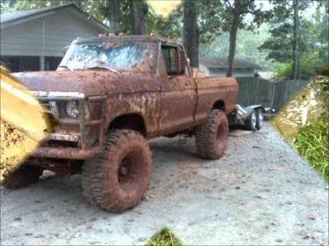A Big 1976 Ford f150 - YouTube