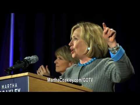 Standing Tall: Elizabeth Warren, Hillary Clinton & Martha Coakley