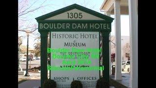BOULDER DAM HOTEL, BOULDER CITY, NV HAUNTED