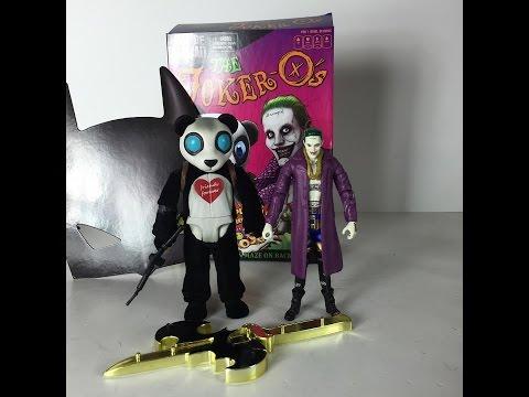 DC Comics Multiverse Suicide Squad Joker & Panda 2016 SDCC Exclusive Mattel