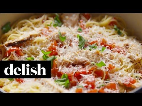 How to make bruschetta chicken sandwich