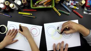 How To Draw The Olympic Rings