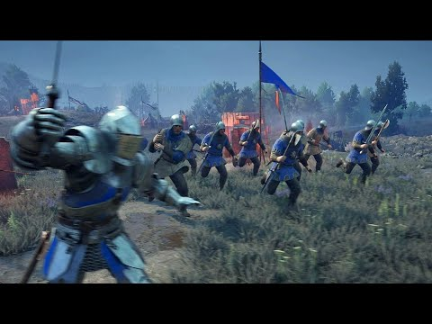 Brutal 16v16 AI Battles! l The Battle of Wardenglade l CHIVALRY 2 |