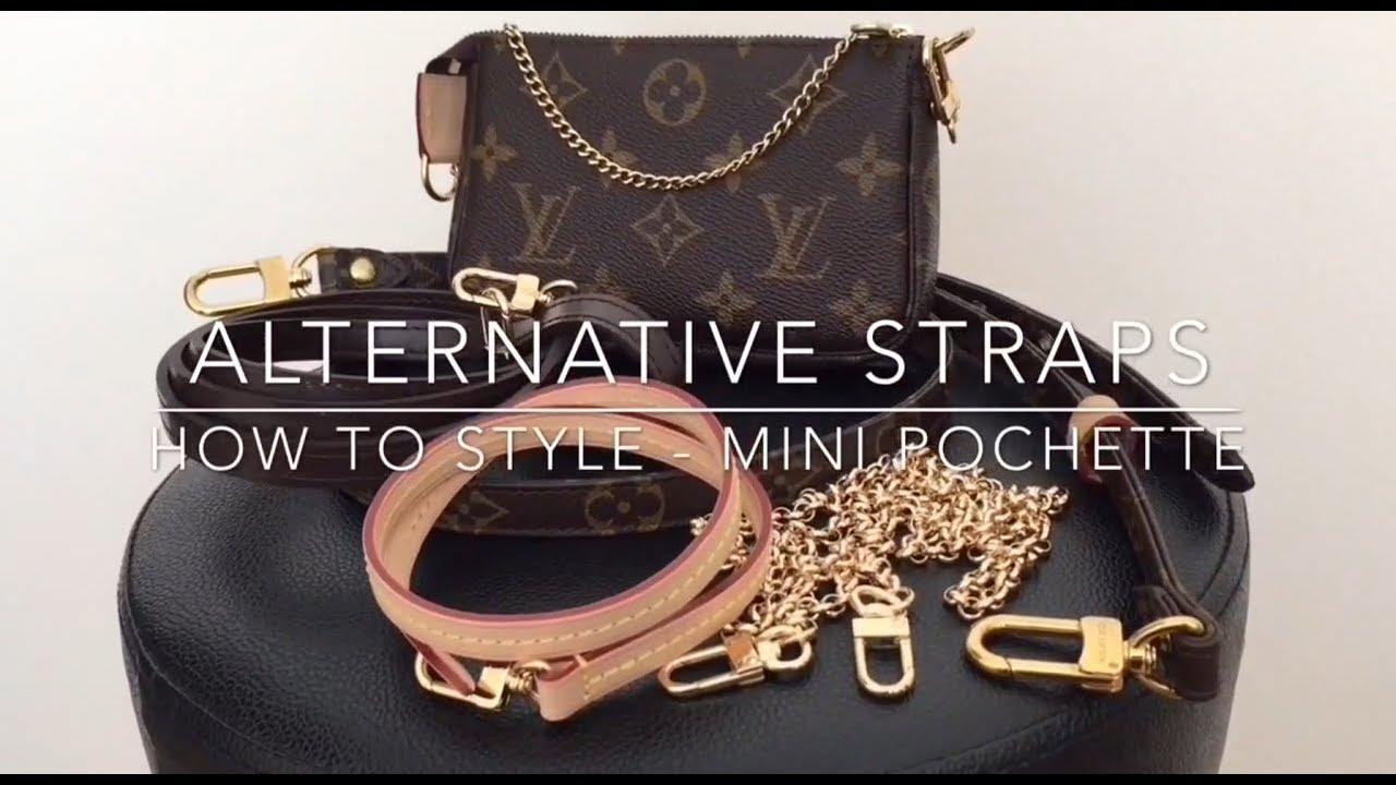 c588bf8b0cfe How to style   How I use wear Mini Pochette Louis Vuitton