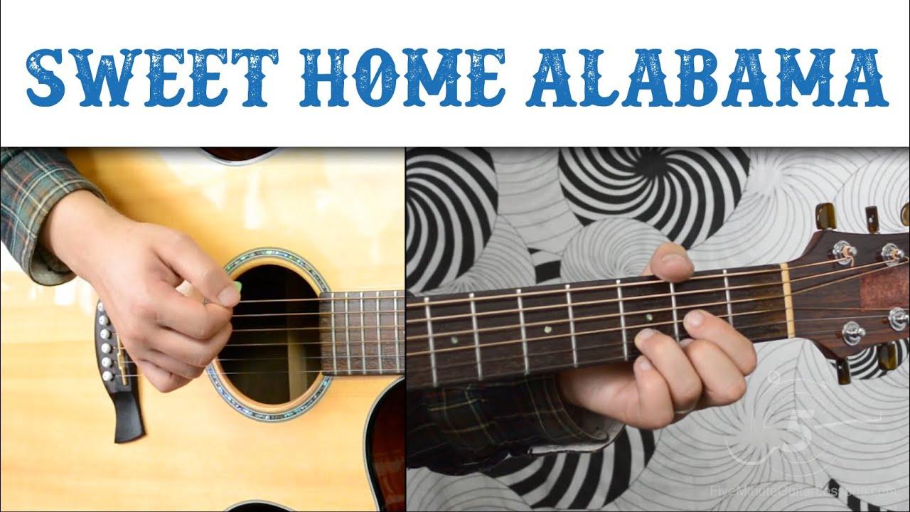 We're crazy about the stately eleg. Sweet Home Alabama Lynyrd Skynyrd Easy Guitar Tutorial Basic Strumming Youtube
