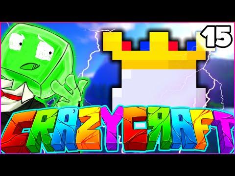 "Minecraft CRAZY CRAFT 3.0 SMP - ""THE KING SPAWN"" - Episode 15"