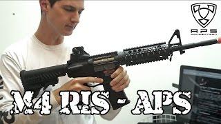 M4 RIS APS - Testada e Aprovada! - Luiz Rider - Airsoft Brasil