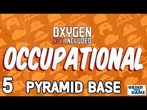 PYRAMID BASE #5 - Oxygen Not Included - Occupational Upgrade (JOBS, HATS & CONVEYOR RAILS)