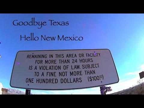 Goodbye Texas Hello New Mexico