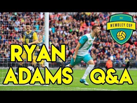 Q & A - RYAN ADAMS - Hashtag United, Wembley Cup & Scoring Goals!