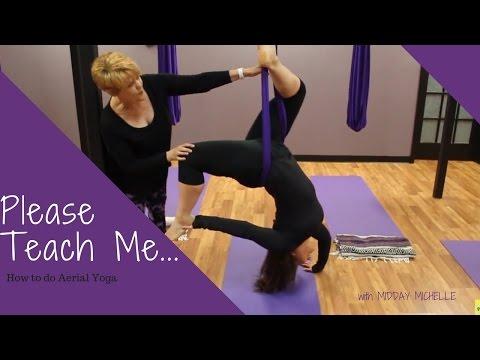 How To Do Aerial Yoga