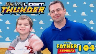 LOST THUNDER Father and Sonday! Opening Pokemon Cards with Lukas #104