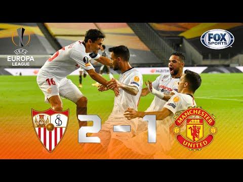 Sevilla - Manchester United [2-1] | GOLES | Semifinal | UEFA Europa League