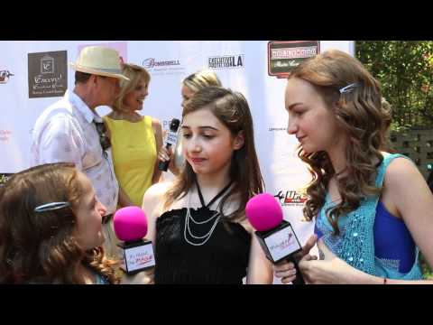 Victoria Strauss interview at the Donna Spangler Flexin-4-Dollars Summer Soiree Event