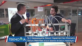 Yarı Otomatik %1 Hassasiyetle Dolum Yapan Dolum Makinesi Yıldız Tekno Park