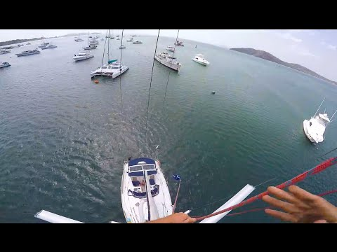Rileys Jump off the Mast - 100K YouTube Subs!!