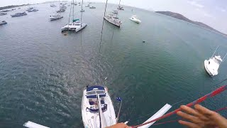 Rileys Jump off the Mast - 100K YouTube Subs!!