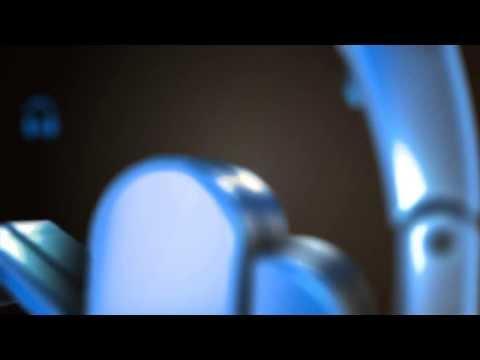3D Blue Glossy Youtube Logo Intro Animation