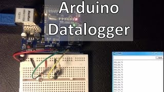 Arduino - Datalogger with Temperature Sensor and Photoresistor