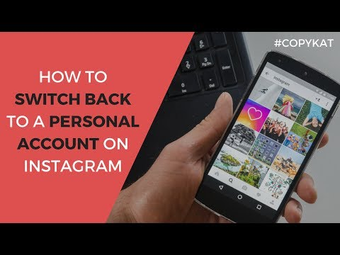 How to Switch Back to a Personal Instagram Account (from a Business)