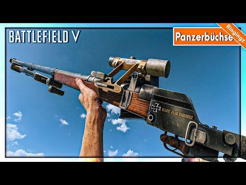 ปืนพิฆาต ยานเกราะ panzerbüchse 39  Battlefield V Wake Island Conquest