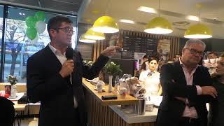 Daniel Boaje, CEO al lanţului de restaurante McDonald's România