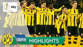 Borussia Dortmund - Hertha BSC 4:3 n.E. | Highlights DFB-Pokal 2016/17 - Achtelfinale