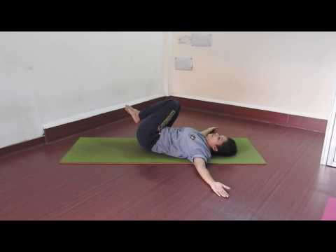 Yoga for back pain beginner relief & flexibility workout stretch hindi