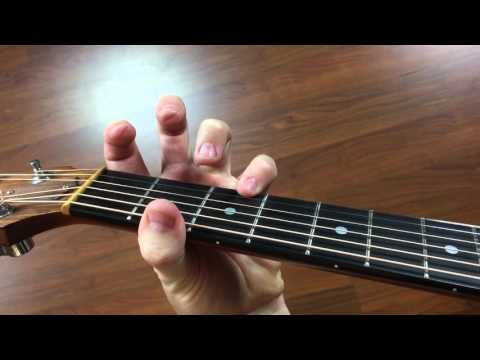 CHORD: Dsus2 and Dsus4 - D Suspended Guitar Open Chords - How to Play Guitar for Beginners