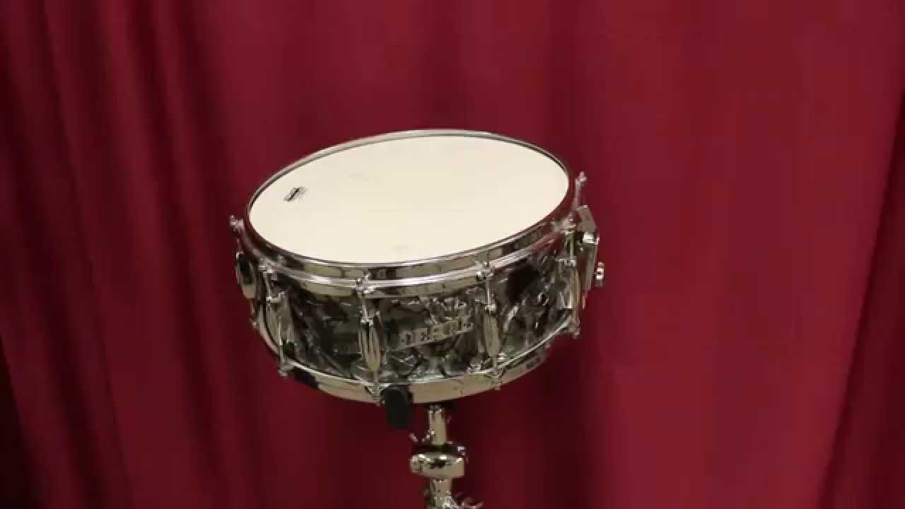 vintage pearl 2814 deluxe snare drum youtube. Black Bedroom Furniture Sets. Home Design Ideas
