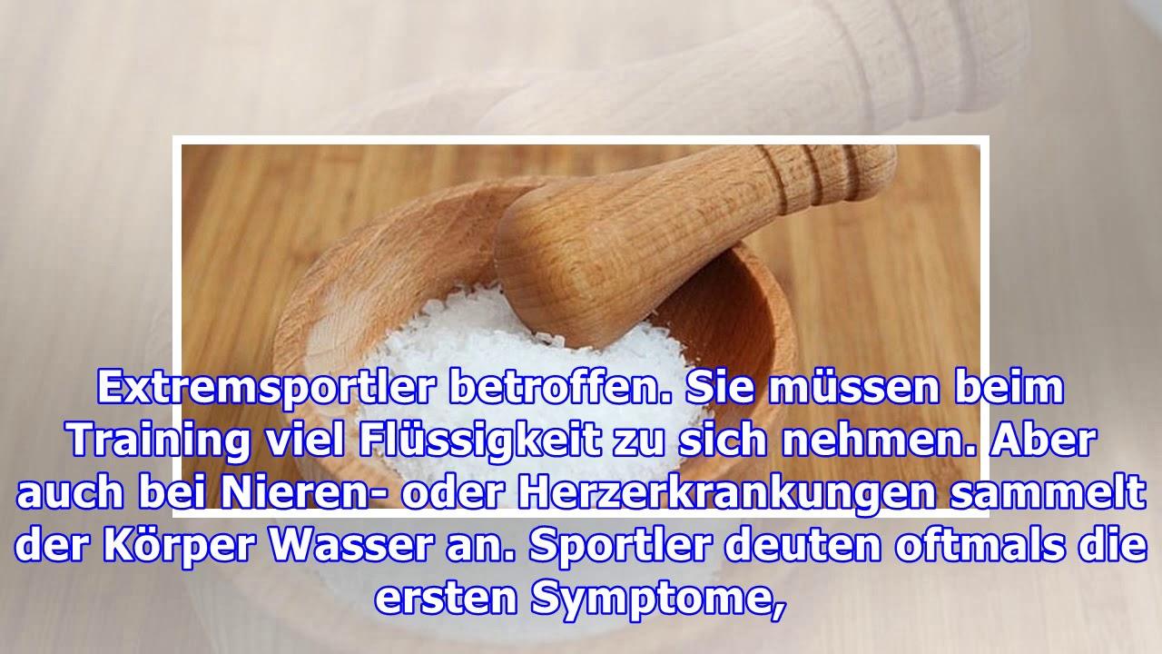 Natriummangel Symptome