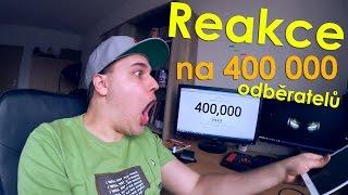 Reakce na 400 000 odběratelů