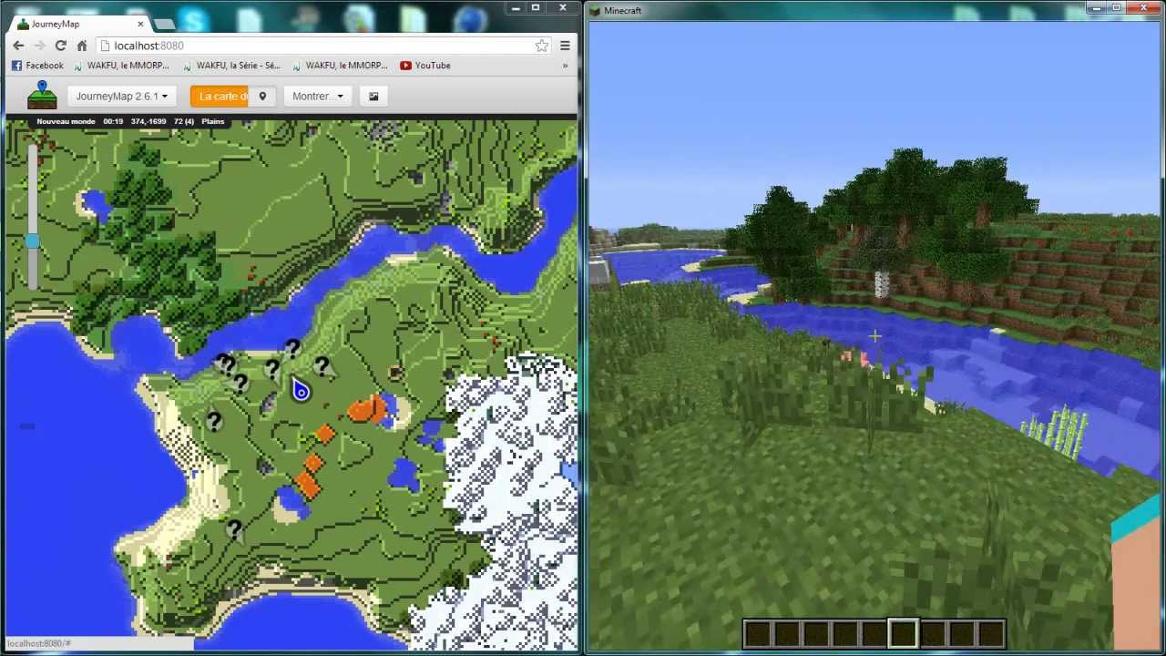 tuto minecraft comment installer et utiliser journeymap   - tuto minecraft comment installer et utiliser journeymap  fr
