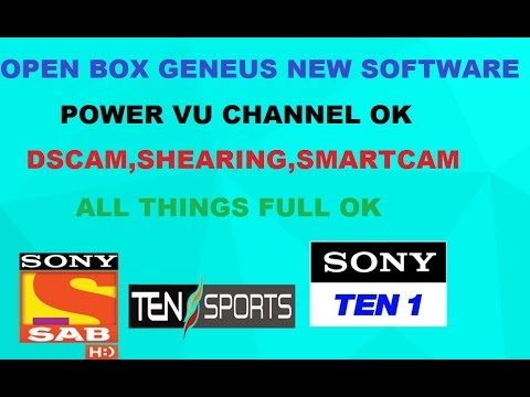 OPENBOX GENUS NEW SOFTWARE FOR ALL 1506 MODEL 2018 BY DISH MASTER
