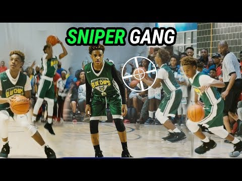 Bronny James, Rodney Gallagher & The North Coast Blue Chips CAN'T MISS! SNIPER GANG 🔥