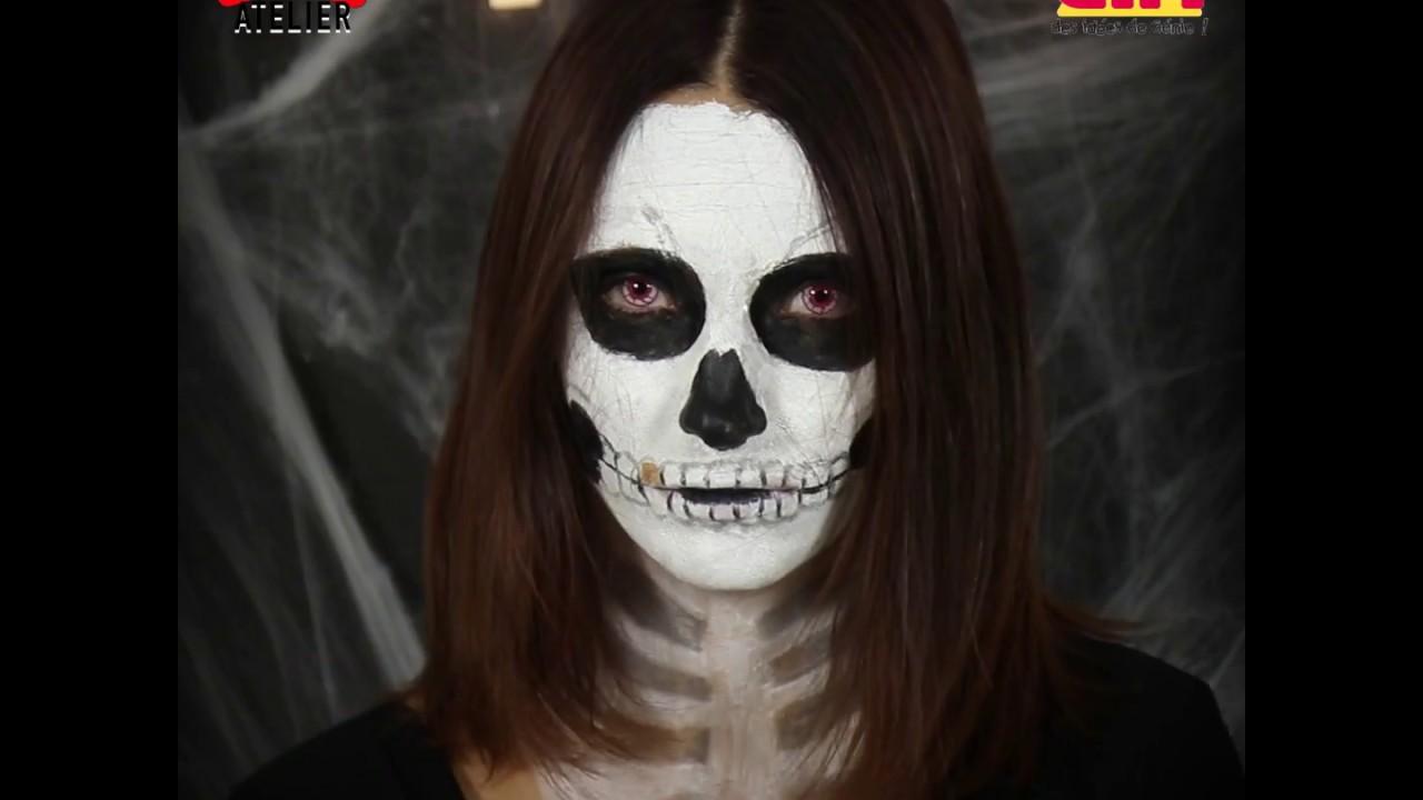 maquillage vampire gifi
