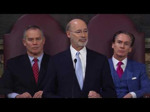 Pa. Gov. Tom Wolf's 2017 budget address