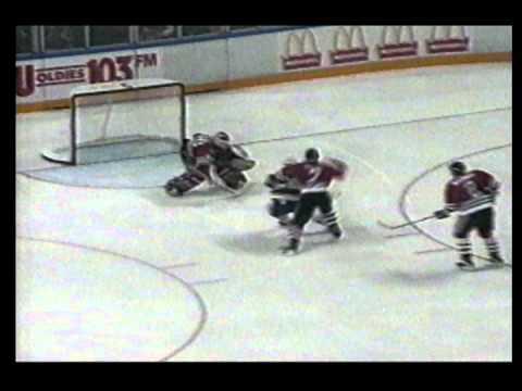 St.Louis Blues sweep Blackhawks 1990