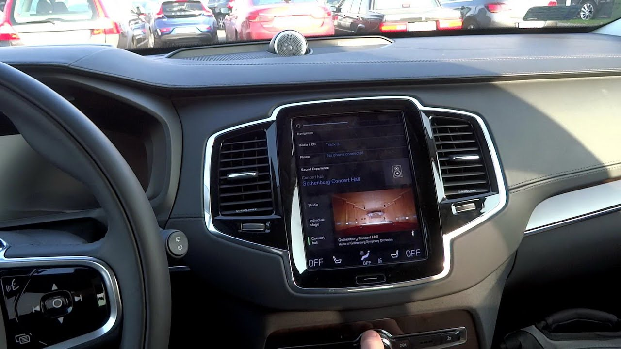 2016 Volvo XC90 B&W Audio Sound System Bowers & Wilkins Speakers Test [ENG] [PL] - YouTube