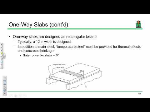 CE 413 Lecture 12:One-Way Slab Design (2018.02.12)